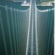 明石海峡大橋 主塔頭頂より